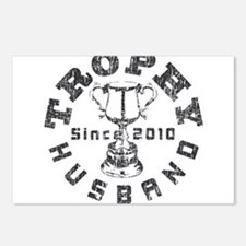 Trophy Husband Since 2010 Postcards (Package of 8)