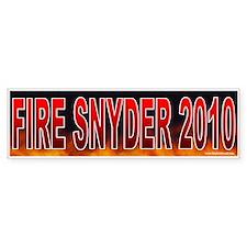 Fire Vic Snyder (sticker)