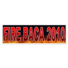 Fire Joe Baca (sticker)