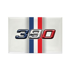 390RWB Rectangle Magnet