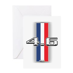 46RWB Greeting Card