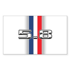 New Section Rectangle Sticker 50 pk)