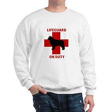 Newfoundland Dog Water Rescue Sweatshirt