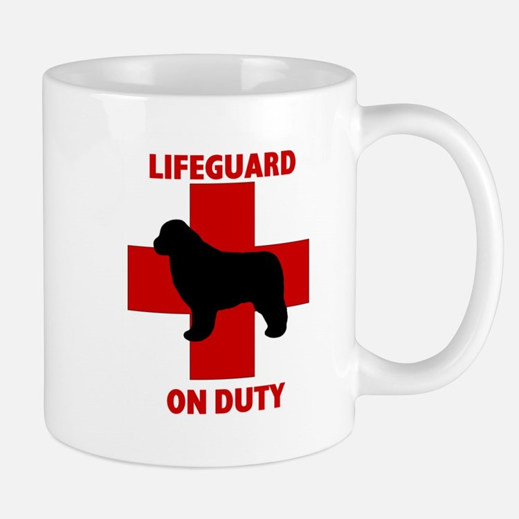 Newfoundland Dog Water Rescue Mug