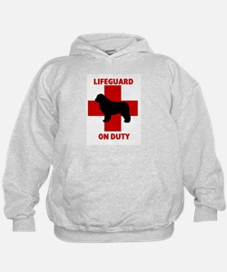 Newfoundland Dog Water Rescue Hoodie