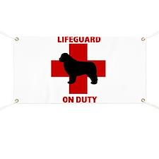 Newfoundland Dog Water Rescue Banner