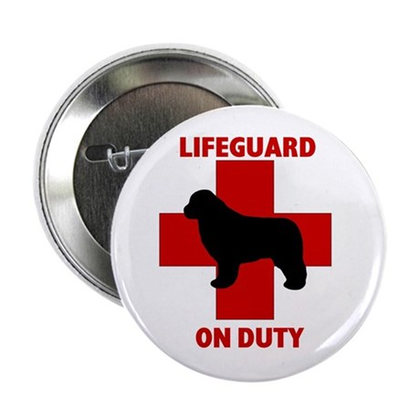 "Newfoundland Dog Water Rescue 2.25"" Button (10 pac"