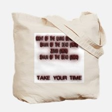 Zombies Are Slow Tote Bag
