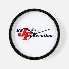 Cute United states judo Wall Clock