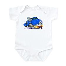 1933-36 Willys Blue Car Infant Bodysuit