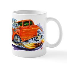 1933-36 Willys Orange Car Mug