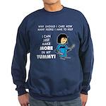 I Can Make More in My Tummy! Sweatshirt (dark)
