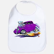 1933-36 Willys Purple Car Bib