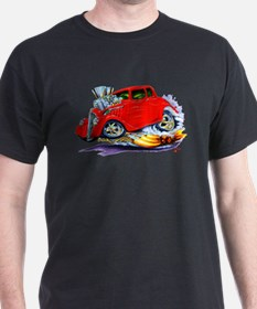 1933-36 Willys Red Car T-Shirt