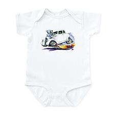 1933-36 Willys White Car Infant Bodysuit