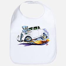 1933-36 Willys White Car Bib
