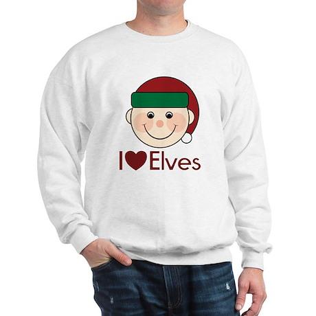 I Heart Elves Sweatshirt