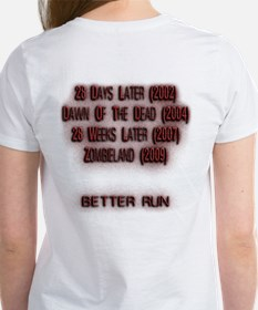 Zombies Are Fast Women's T-Shirt