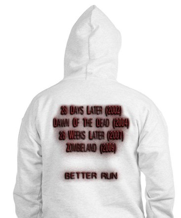 Zombies Are Fast Hoodie