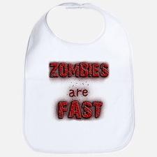 Zombies Are Fast Bib
