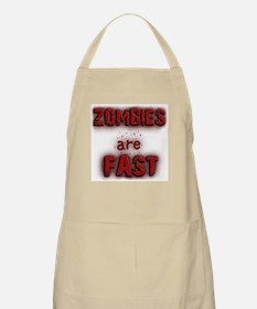 Zombies Are Fast Apron