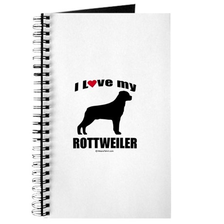 I Love my Rottweiler ~ Journal