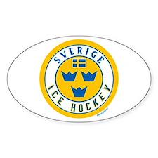 SE Sweden/Sverige Hockey Decal