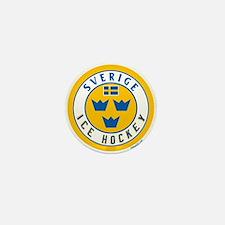 SE Sweden/Sverige Hockey Mini Button