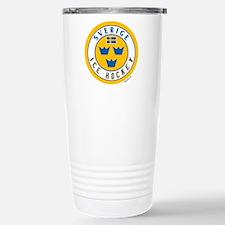 SE Sweden/Sverige Hockey Travel Mug