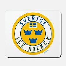 SE Sweden/Sverige Hockey Mousepad