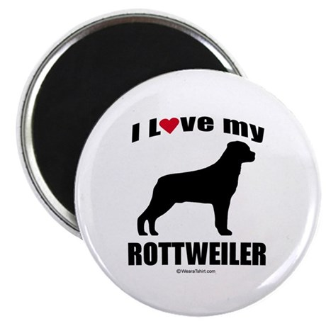 I Love my Rottweiler ~ Magnet