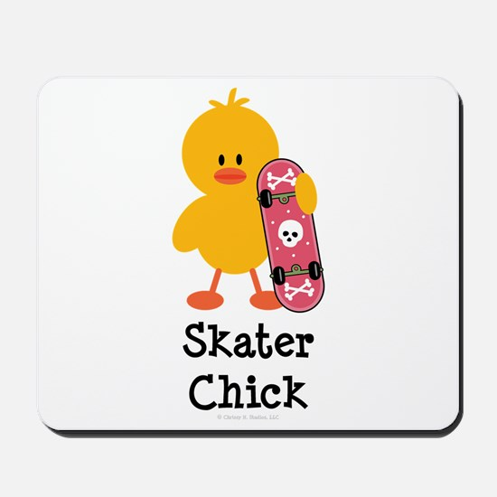 Skater Chick Mousepad