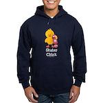 Skater Chick Hoodie (dark)