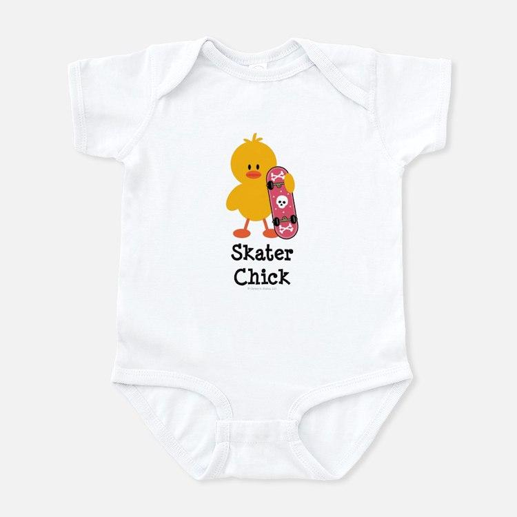Skater Chick Infant Bodysuit