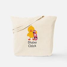 Skater Chick Tote Bag