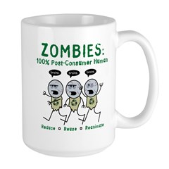 Zombies (Full Color) Large Mug
