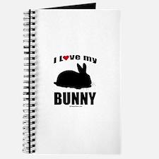 I Love my Bunny ~ Journal