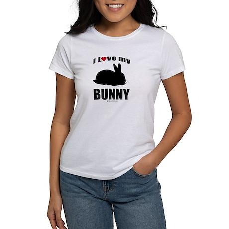 I Love my Bunny ~ Women's T-Shirt