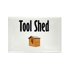 Tool Shed Rectangle Magnet