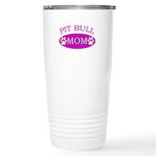 Pit bull Mom Travel Coffee Mug