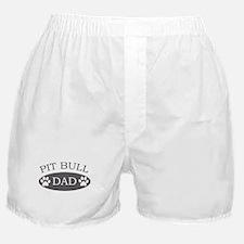 Pit Bull Dad Boxer Shorts