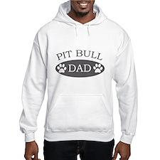 Pit Bull Dad Hoodie