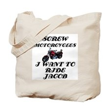 Twilight motorcycles Tote Bag