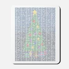 Binary Christmas Carol - O Ta Mousepad