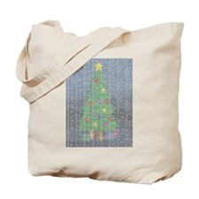Binary Christmas Carol - O Ta Tote Bag
