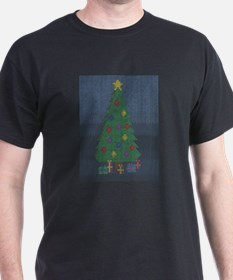 Binary Christmas Carol - O Ta T-Shirt