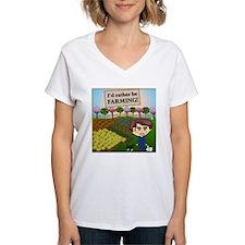 Rather Be Farming Shirt