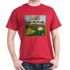 Rather Be Farming T-Shirt