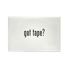 got tape? Rectangle Magnet (100 pack)