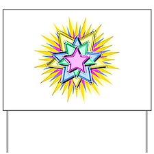 Christmas Star Yard Sign
